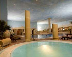 Swimming Pool at Whittlebury Hall Hotel Spa